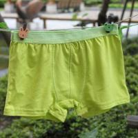 Buy cheap OEM Plus Size Green Quick Dry 100% Polyester Eco Friendly Perfect Organic Kids Underwear product