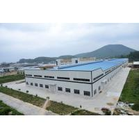 Quality Wide Span Workshop Prefab Steel Structures With AWS And BS EN ISO Certificate for sale