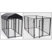 Buy cheap Enclosed Heavy Duty Dog Kennel Length Powder Coating 10ft Width 5ft Heigh 6ft from wholesalers
