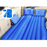 Quality Blue Inflatable Air Bed Pregnancy Mattress , Inflatable Car Bed For Back Seat for sale