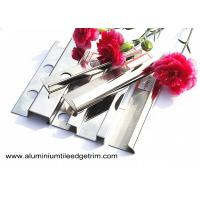 Buy cheap Anti - Scratch 10mm Stainless Steel Tile Trim With Square Edge / Metal Bullnose from wholesalers