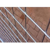 Buy cheap Hot Dipped Galvanized Steel Temporary Fencing With 38MM Pipe Plastic Foot from wholesalers