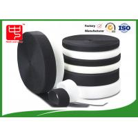 Quality Grade A Heavy duty fabric hook and loop fasteners 100% nylon black and white for sale