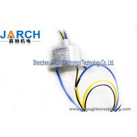 China Continuous rotation Thermocouple Slip Ring for routing hydraulic or pneumatic lines on sale