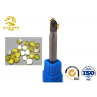 Single Crystal Diamond Milling Cutter Double Edge Molding Knife Processing for sale