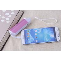 Quality 2800mah Mini Pink Portable USB Phone Charger , 18650 Battery Cell for sale