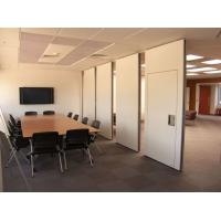 Buy cheap Soundproof Material Aluminium Profile Movable Wall Office Sliding Room Partition from wholesalers