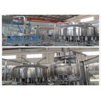 Buy cheap 6000BPH manual bottle filling machine 3-in-1 , drinking water filling machine product