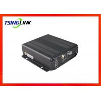 Quality 4G 4CH AHD Vehicle Mobile DVR Supports Two Way Video Talkback With Micro SD Card for sale