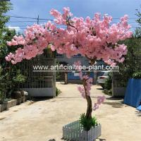 Large Artificial Japanese Style Cherry Blossom Tree 2.5m Height Wind Resistant for sale