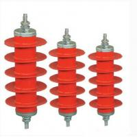 Buy cheap Over Voltage Metal Oxide Gapless Lightning Arrester Ceramic For Electric Railway Systems from wholesalers