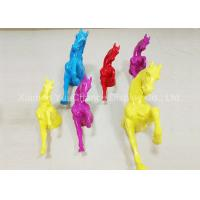 Quality Life Size Window Display Decorations Wall Mounting Fiberglass Horse Statues for sale