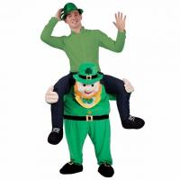 Quality Funy Buddy St Patricks Mascot Novelty Oktoberfest New Unisex Ride on Carry Me Costume Animal Funny Fancy Dress Pants for sale