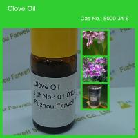 Quality Farwell Natural Essential Oil Clove Oil 85% min for sale