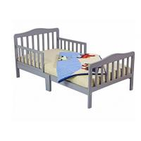 Buy cheap Beautiful Childs Wooden Bed With Two Safety Rails , Childrens Pine Beds Middle Leg product