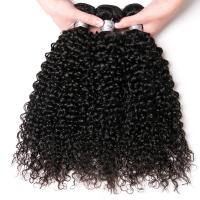 Buy No Shedding Natural Peruvian Human Hair Weave For Undyed Black Extensions at wholesale prices