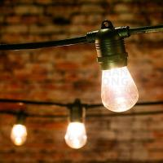 Quality E27 suspended socket string light for sale