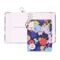 China Cute Hardcover Spiral Planner Golden Wire Binding With Stickers / Pocket Folder / Pendant on sale