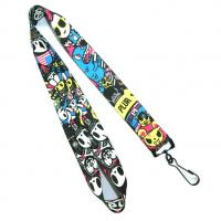 Quality Personalized Polyester Heat Transfer Lanyard With Hook For Trade Show for sale