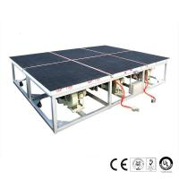 China Air Float Glass Breaking Table on sale