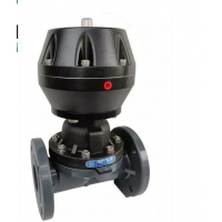 China 0.7Mpa Double Flanged PP DN300 Pneumatic Diaphragm Valve on sale