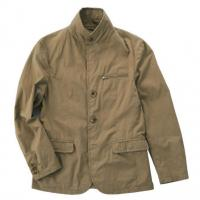 China OEM Formal Plain Mens Flight Jacket Chinese Tunic Suit Single Breasted on sale