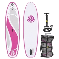 Quality 3 Fin 286lbs 274 X 76 X 10cm Kids Inflatable Paddle Board for sale