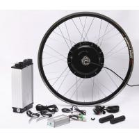 Quality Fat Tire Electric Bicycle Hub Conversion Kit 20Ah High Capacity Lithium Battery for sale