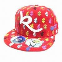 Quality Fashion Hip-hop Cap with Embroidery Logo for sale