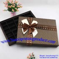 Quality Brown Chocolate Boxes for sale