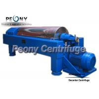 Continuous Ceramic Decanter Centrifuges 2 Phase Horizontal Centrifuge Decanter Separator for sale