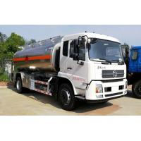 Quality 15 Tons Water Bowser Truck 15000 Liters Stainless Steel / Aluminum Alloy Tankers for sale