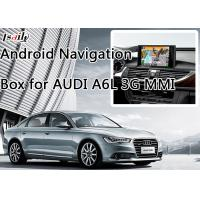 Buy Car Android 6.0 Navigation Box for AUDI A6L 3G MMI with WIFI BT Mirror Link HD 1080P at wholesale prices