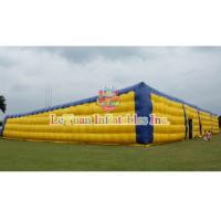 Buy cheap Building Structure Airtight Tent / Large Inflatable Air Tent 54 M Long product