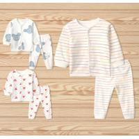 Quality 0-24month newborm cotton long sleeve pajamas for sale