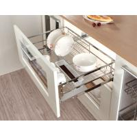 China Pull Out Cabinet Sliding Wire Basket Modern Kitchen Accessories For Storage on sale