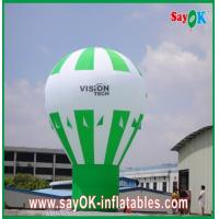 China Green Ground Advertising Balloons Custom Inflatable Products Rainbow Design on sale