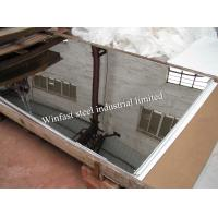 Quality AISI 304 430 Cold Rolled Stainless Steel Metal Sheet Mirror Finish For Decoration for sale