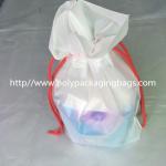 Quality Transparent PVC Vinyl Small Drawstring Pouch Bags Women'S Makeup Pouch for sale