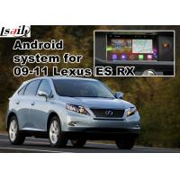 Buy Lexus ES RX NX IS Car GPS Navigation System with rear view touch screen TV video at wholesale prices