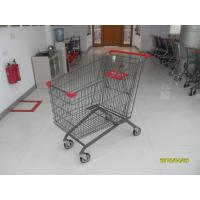 Buy cheap 270L Grocery Store Cart With Four PU Casters / Anti - UV Plastic Parts from wholesalers