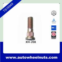 Quality 10.9 Grade Long Zinc Wheel Knurl Stud Replacement O.D.14.2mm Length 48.4mm for sale
