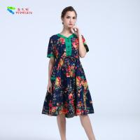Quality YIZHIQIU Casual Dresses cotton anti-static dress for sale