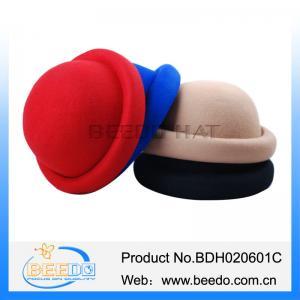 Quality Vintage ladies 100% wool bowler hat uk for sale