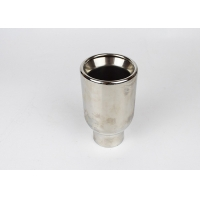 Quality 304 Stainless Steel 2.75 Inch Truck Muffler Tips for sale
