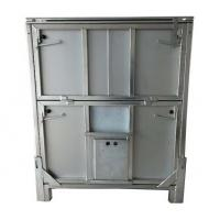 Quality Metal Chemical Storage Tote 1000L Capacity Cold Galvanised Mild Steel Construction Finish for sale