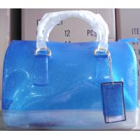 Quality 2013 new dsign fashion Pure crusty saddle shape jelly bag for sale