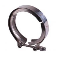 Quality Fine Polished Grooved Pipe Clamps , Stainless Steel Pipe Fitting Clamps for sale