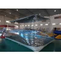 Quality Fireproof PVC Tarpaulin Bubble Tent Night Inflatable For Car Cover / Car Capsule for sale