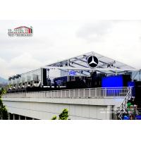 Quality Transparent  Roof Cover  20X40M Outdoor Event Tents With Inside Decoration for sale